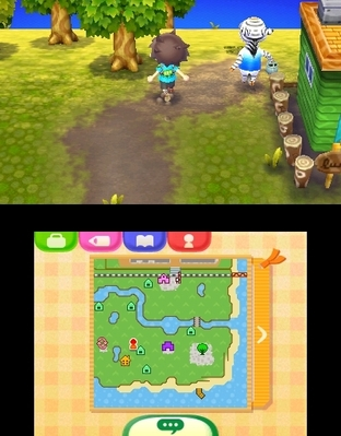 Animal Crossing : New Leaf 3DS - Screenshot 256