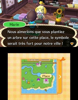 Animal Crossing : New Leaf 3DS - Screenshot 260