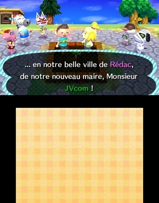 Animal Crossing : New Leaf 3DS - Screenshot 261