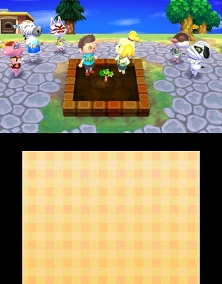 Animal Crossing : New Leaf 3DS - Screenshot 262