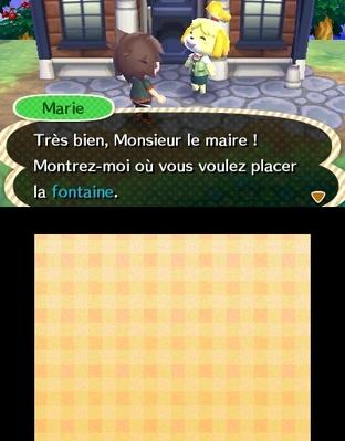 Animal Crossing : New Leaf 3DS - Screenshot 286