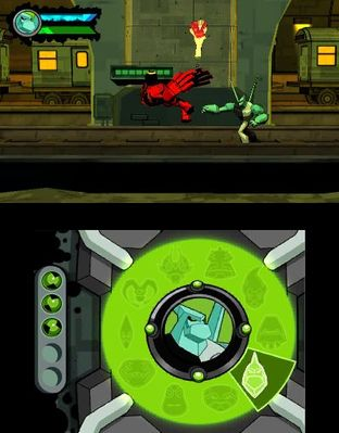 Test Ben 10 Omniverse Nintendo 3DS - Screenshot 1