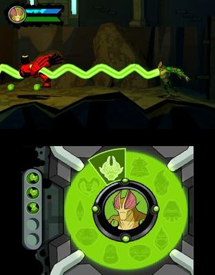 Test Ben 10 Omniverse Nintendo 3DS - Screenshot 3