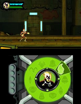 Test Ben 10 Omniverse Nintendo 3DS - Screenshot 5