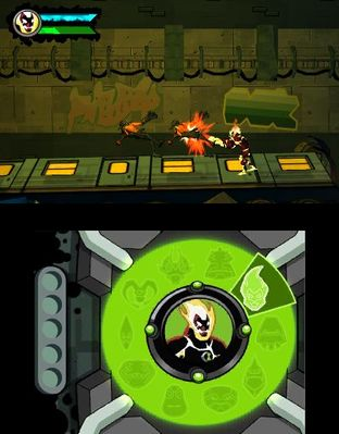 Test Ben 10 Omniverse Nintendo 3DS - Screenshot 6