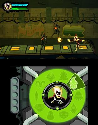 Test Ben 10 Omniverse Nintendo 3DS - Screenshot 7