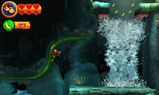 Aperçu Donkey Kong Country Returns 3D Nintendo 3DS - Screenshot 15