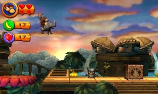 Donkey Kong Country Returns sur 3DS