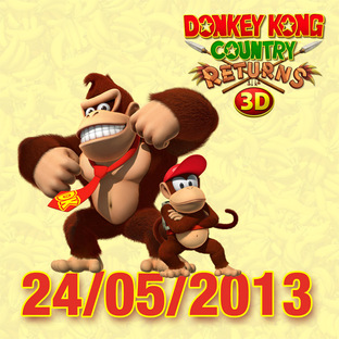 Une date pour Donkey Kong Returns