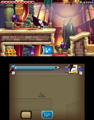 Test Epic Mickey : Power of Illusion Nintendo 3DS - Screenshot 22