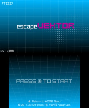 escapeVektor Nintendo 3DS