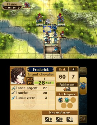 Test Fire Emblem : Awakening Nintendo 3DS - Screenshot 87