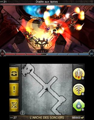 Test Heroes of Ruin Nintendo 3DS - Screenshot 22