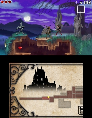 Test Hotel Transylvanie Nintendo 3DS - Screenshot 3