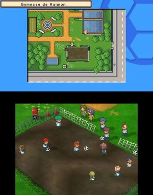 Test Inazuma Eleven 3 Foudre Céleste Nintendo 3DS - Screenshot 13