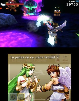 Test Kid Icarus Uprising Nintendo 3DS - Screenshot 132
