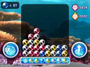 Test Le Monde de Némo : Course vers l'Océan Nintendo 3DS - Screenshot 1