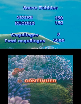Test Le Monde de Némo : Course vers l'Océan Nintendo 3DS - Screenshot 5