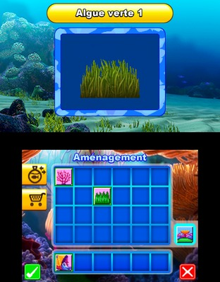 Test Le Monde de Némo : Course vers l'Océan Nintendo 3DS - Screenshot 6