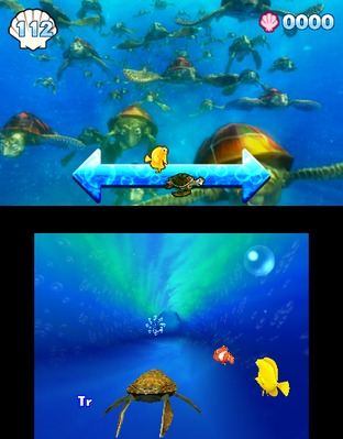 Test Le Monde de Némo : Course vers l'Océan Nintendo 3DS - Screenshot 7
