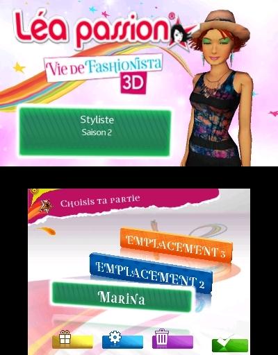 jeuxvideo.com Léa Passion Vie de Fashionista 3D - Nintendo 3DS Image