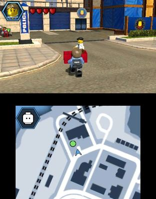 Test LEGO City Undercover : The Chase Begins Nintendo 3DS - Screenshot 16