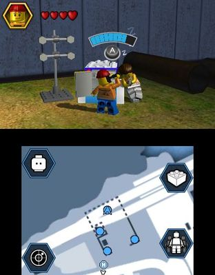 Test LEGO City Undercover : The Chase Begins Nintendo 3DS - Screenshot 17