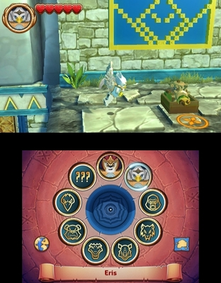 Test Chima Le voyage de Laval Nintendo 3DS - Screenshot 10