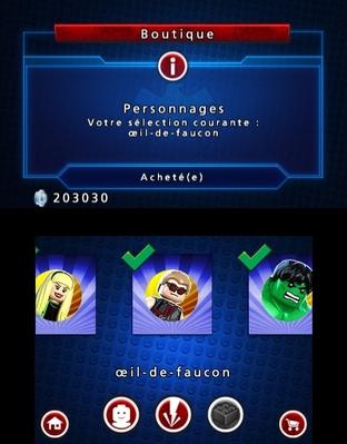 Test LEGO Marvel Super Heroes : L'Univers en Péril Nintendo 3DS