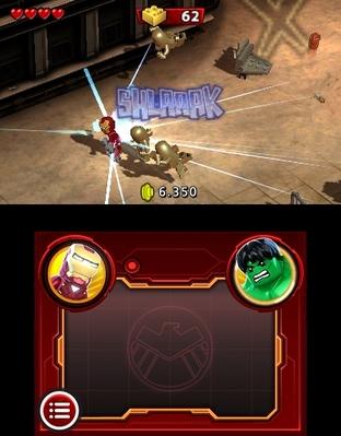 Images LEGO Marvel Super Heroes : L'Univers en Péril Nintendo 3DS