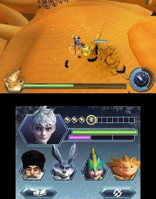 Test Les Cinq Légendes Nintendo 3DS - Screenshot 4