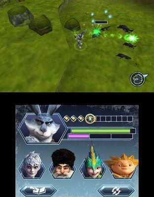 Test Les Cinq Légendes Nintendo 3DS - Screenshot 5