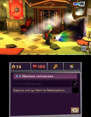 Test Luigi's Mansion 2 Nintendo 3DS - Screenshot 85