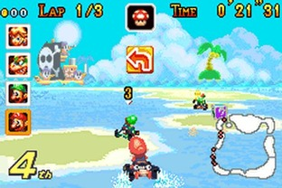 Test Mario Kart : Super Circuit Nintendo 3DS - Screenshot 64