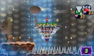 Test Mario & Luigi : Dream Team Bros. Nintendo 3DS - Screenshot 9