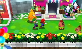 Aperçu Mario & Luigi : Dream Team Bros. Nintendo 3DS - Screenshot 1