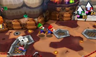 Test Mario & Luigi : Dream Team Bros. Nintendo 3DS - Screenshot 4