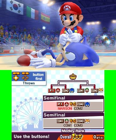 Mario Et Sonic Aux Jeux Olympiques De Londres 2012 3ds