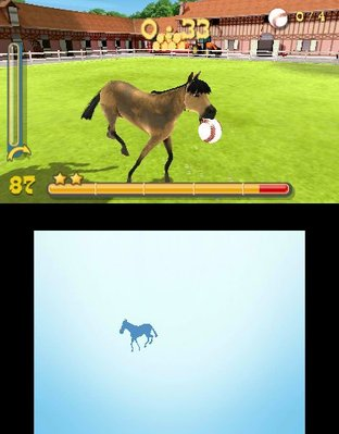 Test Mon Haras 3D : Tous en Selle Nintendo 3DS - Screenshot 1