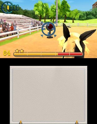 Test Mon Haras 3D : Tous en Selle Nintendo 3DS - Screenshot 2
