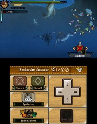 Test Monster Hunter 3 Ultimate Nintendo 3DS - Screenshot 208