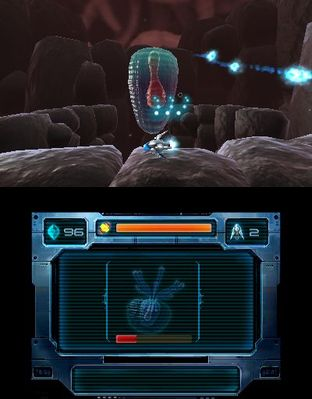 Test Nano Assault EX Nintendo 3DS - Screenshot 73