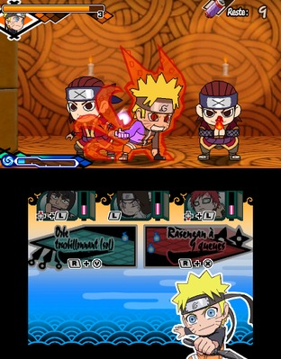 Test Naruto Powerful Shippuden Nintendo 3DS - Screenshot 57