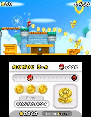 Test New Super Mario Bros. 2 Nintendo 3DS - Screenshot 85