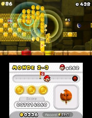 Test New Super Mario Bros. 2 Nintendo 3DS - Screenshot 87