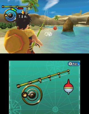 Test One Piece Unlimited Cruise SP 2 Nintendo 3DS - Screenshot 1