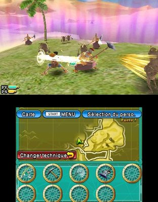 Test One Piece Unlimited Cruise SP 2 Nintendo 3DS - Screenshot 2
