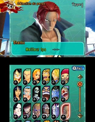 Test One Piece Unlimited Cruise SP 2 Nintendo 3DS - Screenshot 3