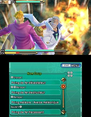 Test One Piece Unlimited Cruise SP 2 Nintendo 3DS - Screenshot 4