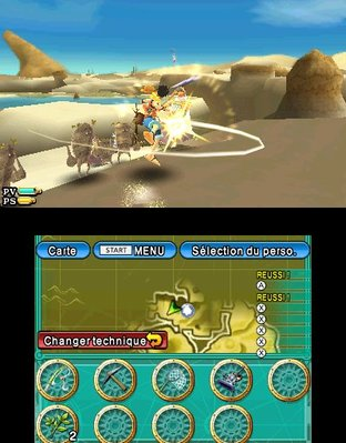 Test One Piece Unlimited Cruise SP 2 Nintendo 3DS - Screenshot 5